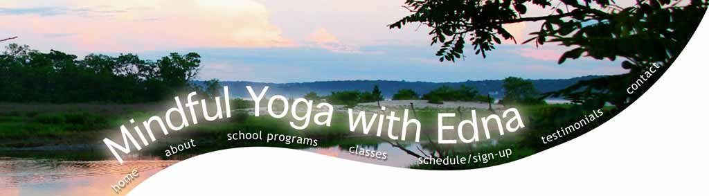 Mindful Yoga with Enda, Long Island north shore scene